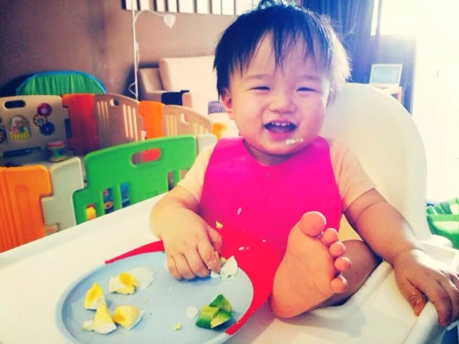 how to cut avocado for baby led weaning